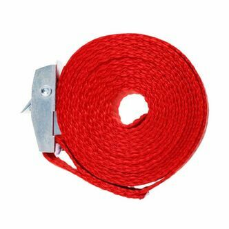 Two x 2 metre Cam Buckle Lashing/Tie Down Straps for Carriers Luggage Cargo