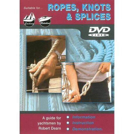 ROPES, KNOTS AND SPLICES DVD